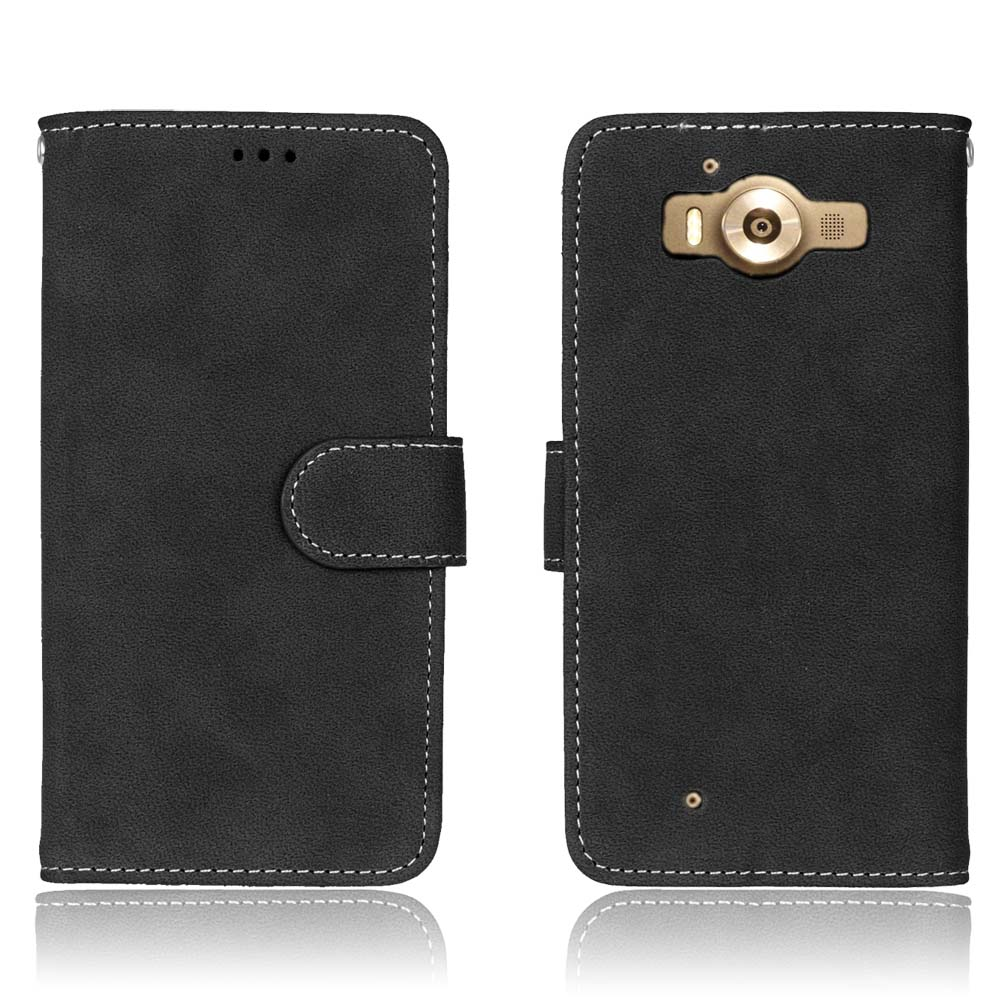 New Case For Microsoft Nokia <font><b>Lumia</b></font> <font><b>930</b></font> Case Frosted <font><b>Back</b></font> <font><b>Cover</b></font> Case Card Holder Mobile Phone Bag Luxury PU Leather Wallet image