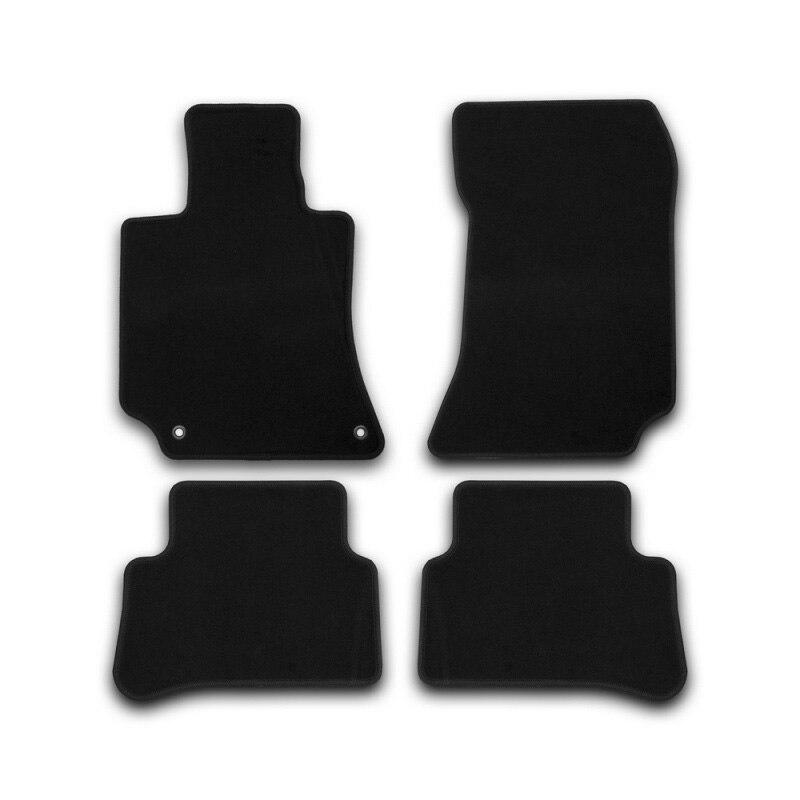 Mats in salon Klever Econom For MERCEDES-BENZ E-Class W212 AUTOMATIC TRANSMISSION 2014->, сед... 4 PCs (textile) недорого