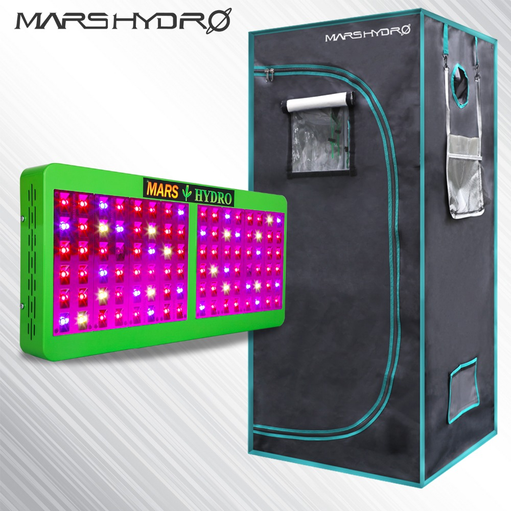 Reflector 480W LED Grow Lights Hydroponic Kit Plant+1680D 70*70*160 Indoor Grow Tent No Stock in Russia