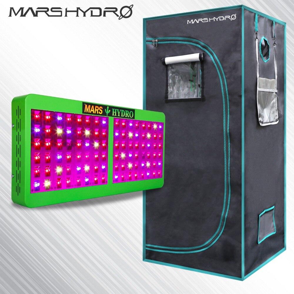 Riflettore 480 w LED Luci a intensità Idroponica Kit Impianto + 1680D 70*70*160 Indoor Grow Tenda Nessun Azione in Russia