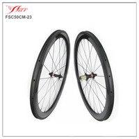 Novatec hubs wheels 700C 50mm deep carbon road bike wheels 20.5mm/23mm/25mm wide available , U shape with Aero Dynamic Design