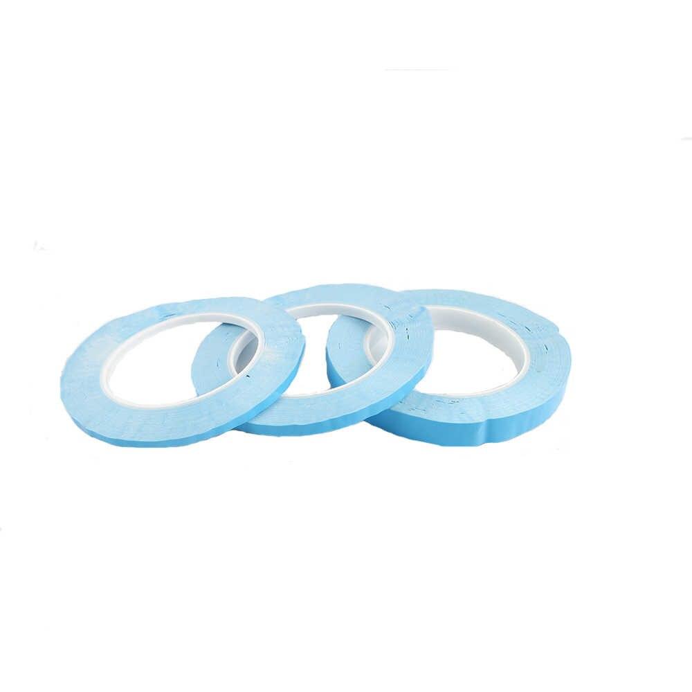 25 m/Roll 3mm-20mm 4mm 5mm Breite Transfer Band Doppel Seite Thermische Leitfähigen klebeband für Chip PCB Led-streifen Kühlkörper