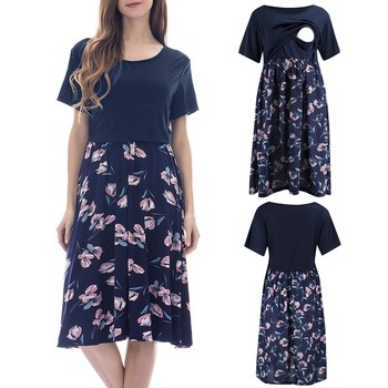 SAGACE Women's Maternity Dress for Summer 1