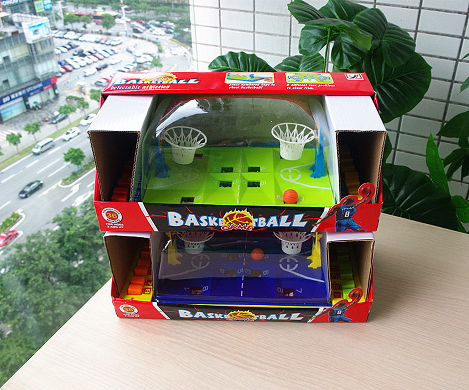 Купить с кэшбэком Basketball Football Shooting Game desktop family party playing board games toys for kid and adult