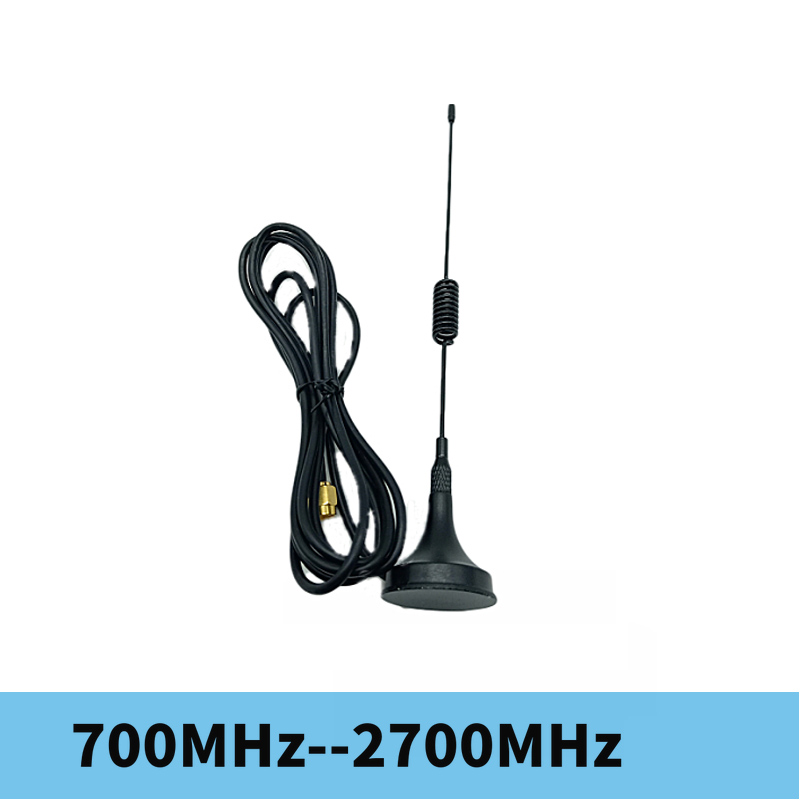 HackRF One 700MHz-2700MHz Antenna SMA Needle 2G, 3G, 4G suction cup antenna