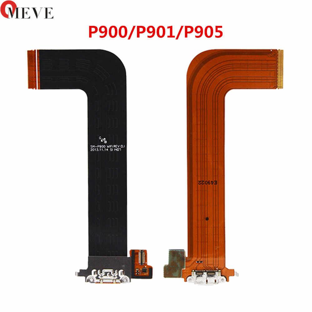 """Cổng Sạc USB Kết Nối Dock Sạc Flex Dây Cáp Dành Cho Samsung Galaxy Note Pro 12.2 P900 P901 P905 Note 10.1"""" 2014 SM-P605 P600"""