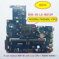 Il Trasporto Libero Nuovo LA-B102P B50-30 Scheda Madre per Lenovo B50-30 Del Computer Portatile con intel N3540 CPU