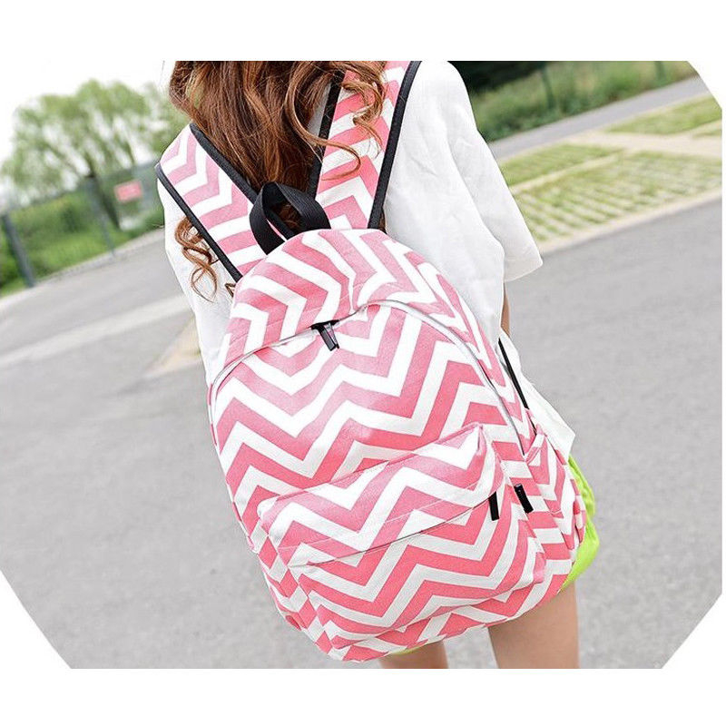 Women Fashion Canvas Girl Cute Backpack Travel Rucksack Shoulder School Bag Backpack Women  School Bags  Adventure Time