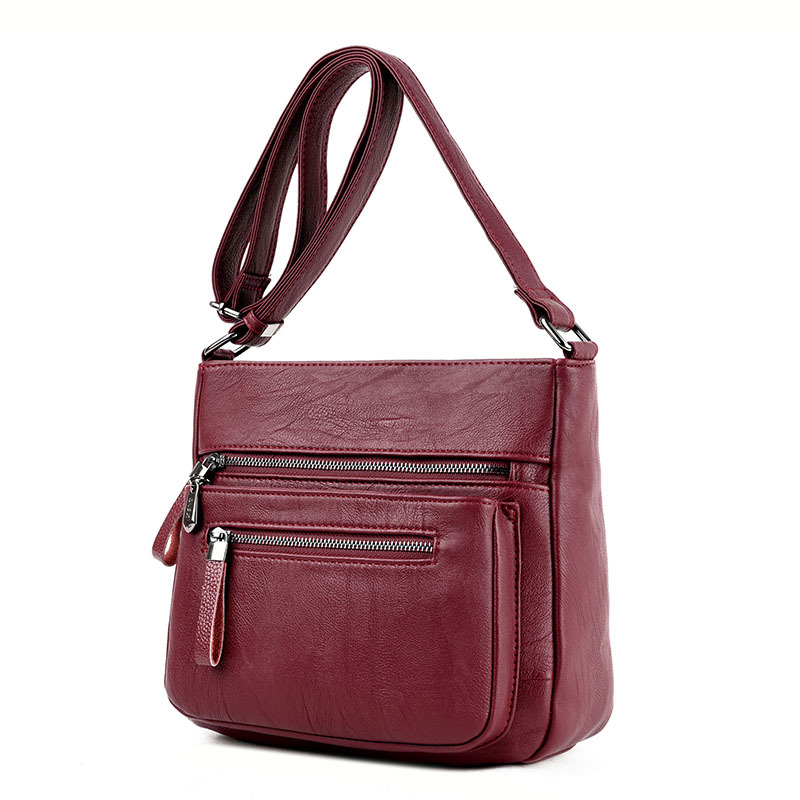 bolsas femininas sacolas crossbody para Material Principal : Couro Genuíno