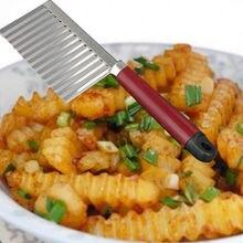 Чипсов тесто картофельных crinkle растительное cocina фруктов гаджет волнистые резки резак