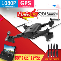 SG900 SG900S X192 GPS Quadcopter With 5MP/2MP HD Full Camera Rc Helicopter GPS Fixed Point WIFI FPV Drone Follow Me mode Dron