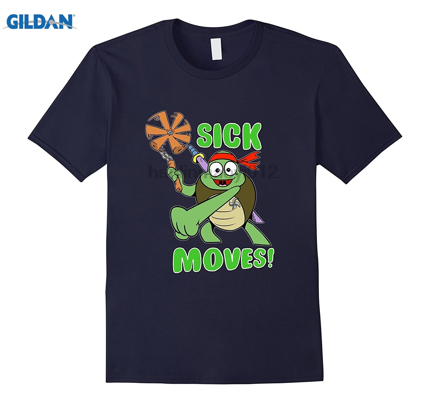 GILDAN Sick Moves! glasses Womens T-shirt