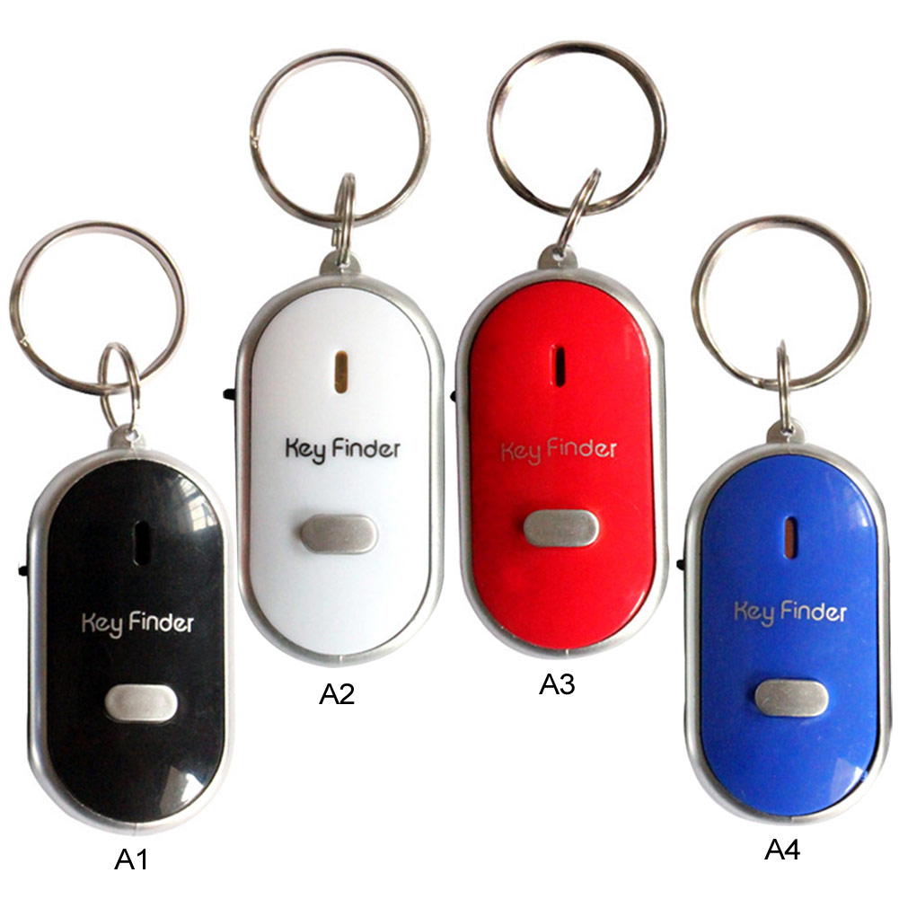 US $5 01 19% OFF|5pcs/Set LED Torch Light Remote Sound Control Lost Key Car  Engine Finder Locator Keychain Alarm Locator Track Phone Wallet Key-in