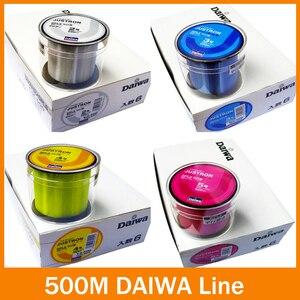 Nylon fishing lineTransparent/ Yellow/ Red/ Blue 500m super High Strong Monofilament Fishing Line for carp fishing