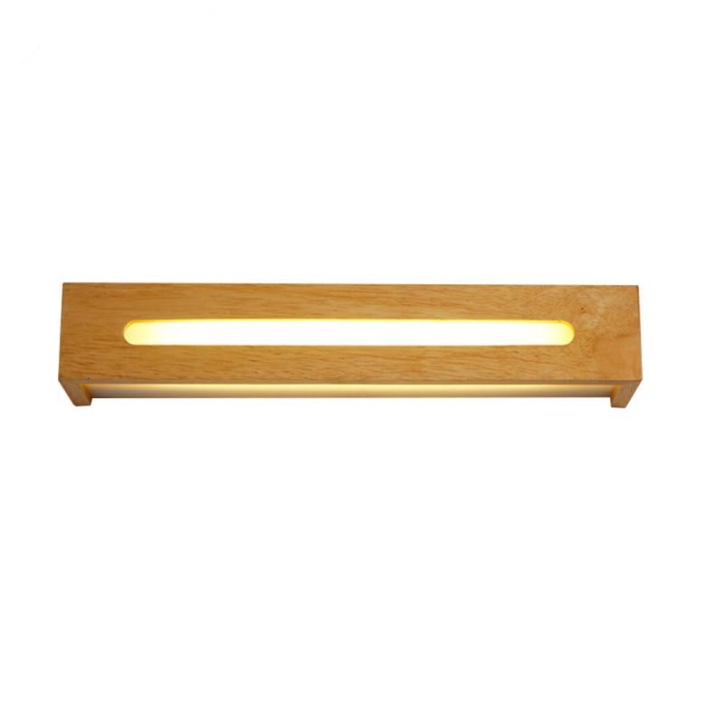 MoModern Led Lamp Oak dřevěné nástěnné svítidlo nástěnné svítidlo pro domácí osvětlení ložnice, nástěnné svítidlo plné dřevěné nástěnné svítidlo