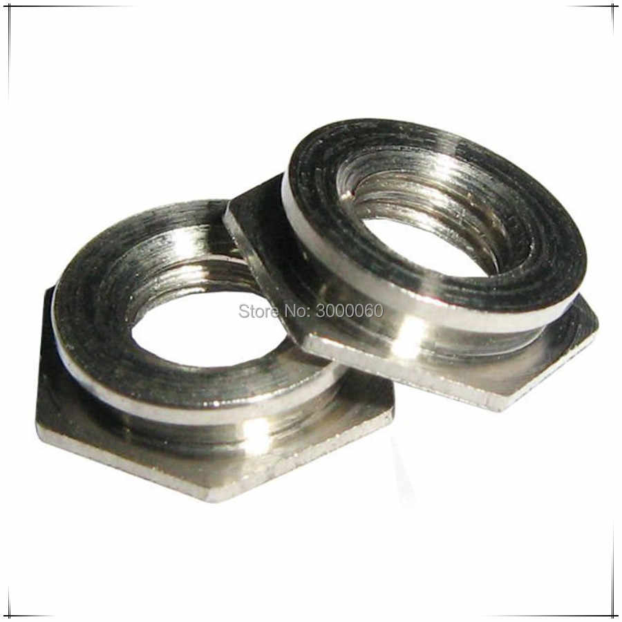F-M3-1/F-M3-2 Type F Stainless Steel 304 A2 Pem Fasteners Self-clinching Insert Flush Nut 200pcs/lot