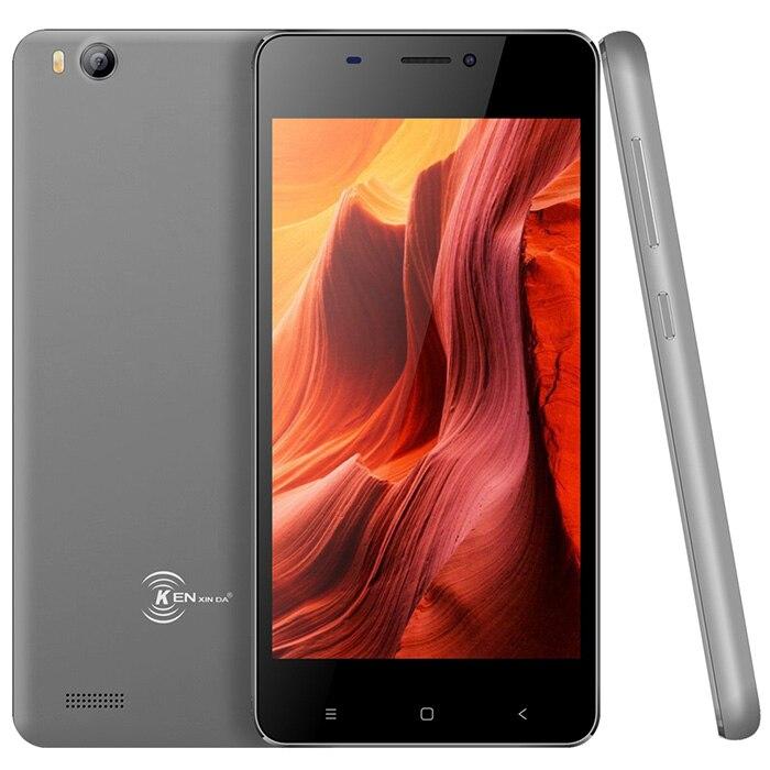 Kenxinda V6 3g Smartphone 4.5 ''Android 7.0 SC7731C Quad Core 1.2 ghz 1 gb + 8 gb 5MP arrière Caméra 1700 mah G-capteur Mobile Téléphone GPS