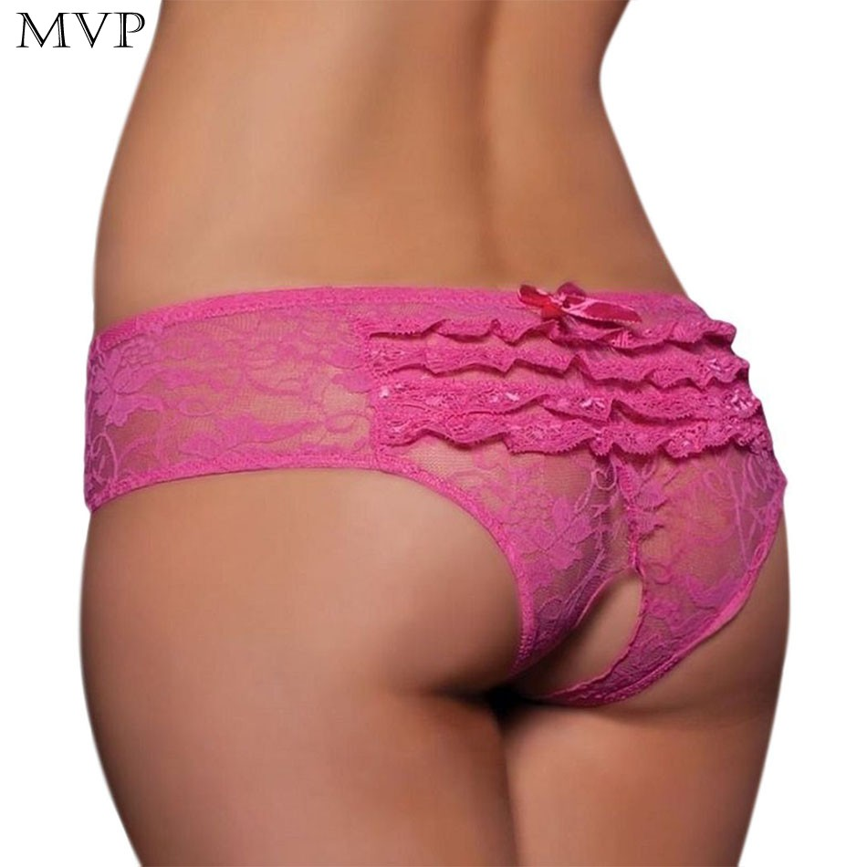 abdd4fee0 Sexy Panties Women Lingerie Exotic Hot Bowknot Knickers Crotchless Briefs  Transparent Underwear Thongs Open Crotch Plus Size 3XL-in Panties from  Novelty ...