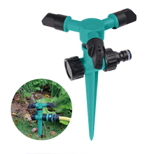1PC Lawn Sprinkler Home Garden Automatic 360 Rotating Water Sprinklers Irrigation Yard Watering Tools