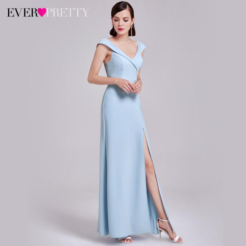 Ever-Pretty Long Elegant Evening Dresses Women Robe De Soiree A-Line ...