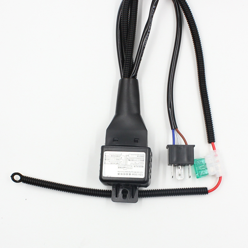 Rockeybright 10X 12V 55W Car H4 9003 Headlight Relay Harness Wire Controller High Low HID Xenon rockeybright 10x 12v 55w car h4 9003 headlight relay harness wire 5 Pin Relay Wiring Diagram at creativeand.co