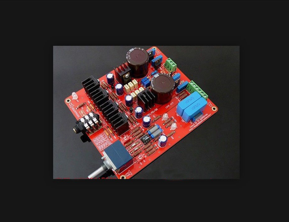 Headphone Amplifier Finished Board HD580/HD600/HD650 Dual AC18V