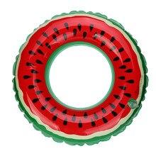 HOT Swimming Pool Inflatable Watermelon Swim Ring Adult Fruit Swim Ring pool toys inflatable donut flamingo pool float ng0