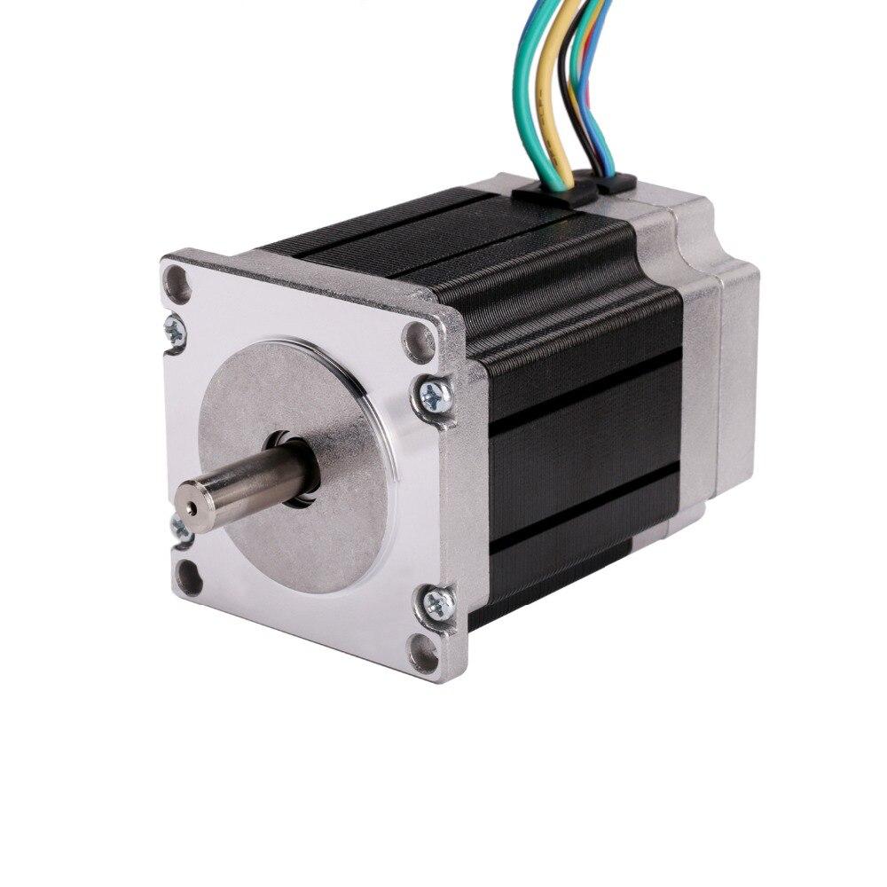 57BLF02 бесщеточный двигатель постоянного тока 125 Вт 24 в 3000 об/мин Nema 23 1.2N.m пиковый фрезерный станок с ЧПУ LONGS мотор