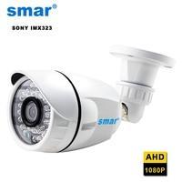 Sony IMX323 Sensörü Su Geçirmez Açık 1080 P AHD Kamera CCTV Güvenlik Bullet Kamera 24 IR Ledler Gündüz & Gece Görüş gözetim