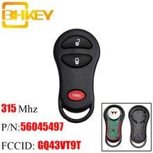 Ключи от джипа bhkey gq43vt9t 3 кнопки дистанционный ключ 315