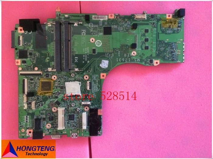 original FOR MSI MS-17631 VER 1.1 laptop motherboard /mainboard  100% Test
