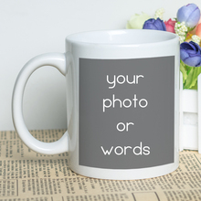 MAYREY Customized Mug Personalized Coffee Cup Ceramic Photo Creative Gift Mugs