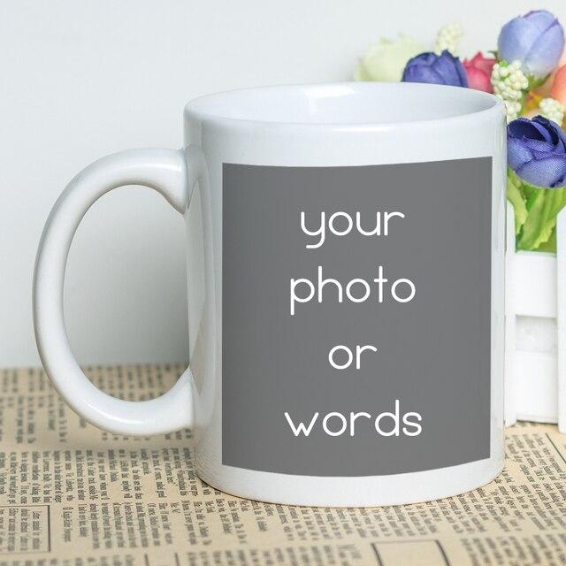f62a56f1389 MAYREY Customized Mug Personalized Coffee Cup Ceramic Photo Mug Kanye West  Twitter Coffee Mug Creative Gift Mugs