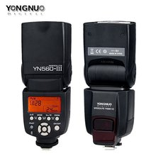 Yongnuo YN-560III YN560 III YN 560 III 2.4 GHz Inalámbrico Disparador Speedlite YN-560 III Flash Para Canon Nikon Envío Libre