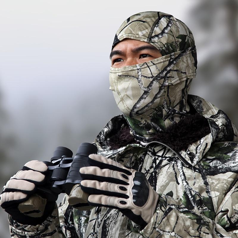 Bionic Camo Lightweight Camo Balaclava Hood / casco táctico Nijia / - Accesorios para la ropa - foto 1