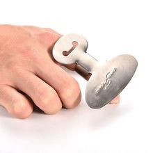 Новые творческие Кухня Пособия по кулинарии Инструменты Нержавеющая сталь Finger ручной предохранитель протектора персонализированные Дизайн Чоп Безопасный ломтик Ножи