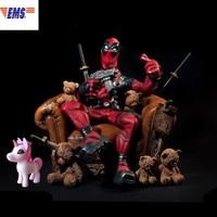 Мстители: Бесконечная война X men Wade Winston Wilson Дэдпул смола статуя ограниченная фигурка модель X682