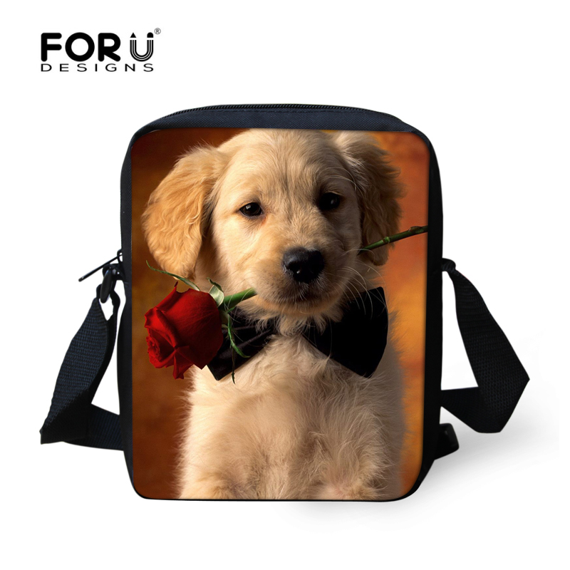 a1ee375d2d1 FORUDESIGNS Brand Women Mini Messenger Bag For Ladies Cute 3D Dog Labrador  Woman Shoulder Cross body Bags For Girls Mini Mochila-in Top-Handle Bags  from ...