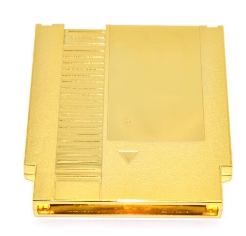 Gyllene färgpläterade metallpläterar 72 st NES Game - Spel och tillbehör