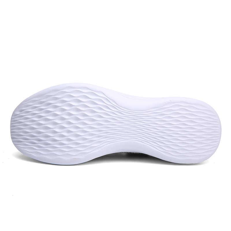 VANCAT Marka Yaz Erkek Çorap Sneakers Nefes Örgü Erkek rahat ayakkabılar üzerinde Kayma Çorap Ayakkabı Loafer'lar Erkek Süper Hafif Eğitmenler