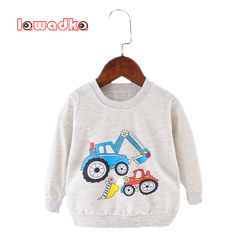 Cotton Baby t-shirt Long Sleeve T-shirts for Babies Cartoon O-neck Top Baby Boy First Birthday Outfit Boy Shirt Clothes Tees faux twinset button design v neck long sleeve fitted stylish polyester t shirt for men