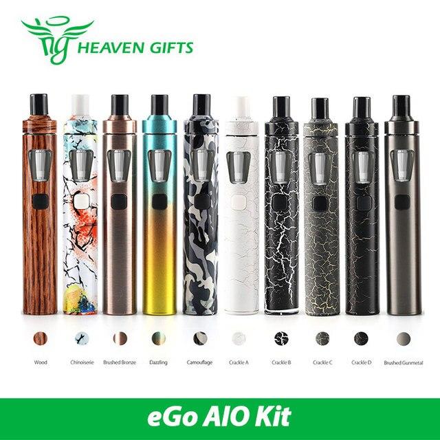 Оригинал Joyetech эго AIO Quick Start Kit 1500 мАч 2 мл AIO вдыхание пара Комплект Новые Цвета w/BF SS316-0.6ohm Голову Электронные Сигареты Жидкостью Vape ручка