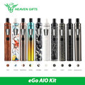 Original Joyetech eGo AIO Quick Start Kit 1500mAh 2ml AIO Vaping Kit New Colors w/BF SS316-0.6ohm Head Electronic Cig Vape Pen