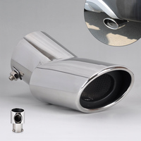Car Styling High Grade 304 Stainless Steel Exhaust Tail Rear Muffler Tip Pipe For Hyundai Ix35