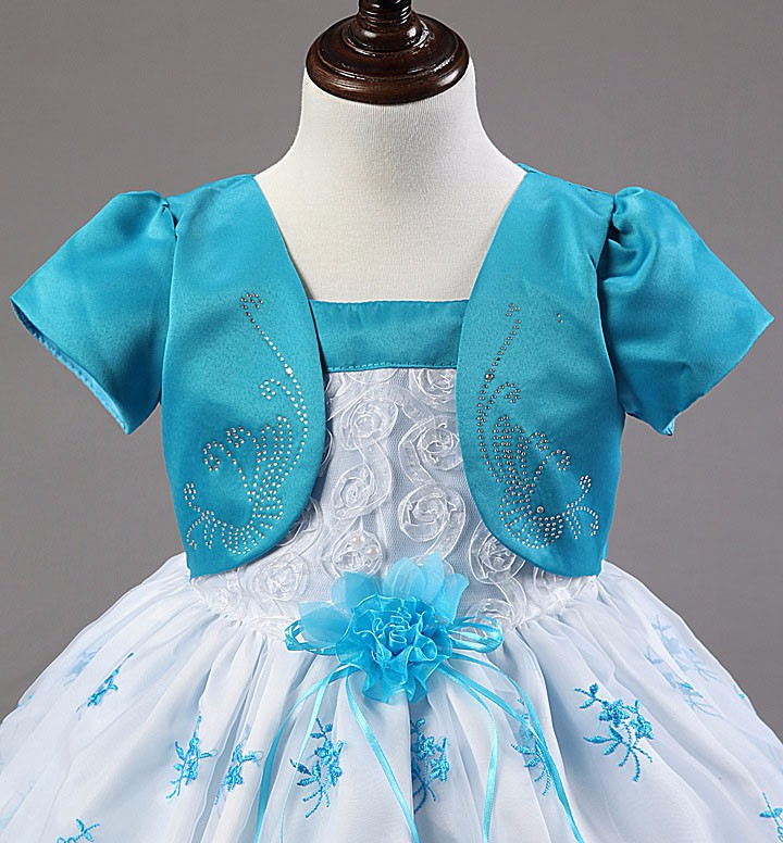 infant blue dress