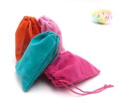 Маленькие синие бархатные сумочки 9*12 см бархатные мешочки упаковка ювелирных изделий и дисплей ювелирных изделий 50 шт./партия бисерное