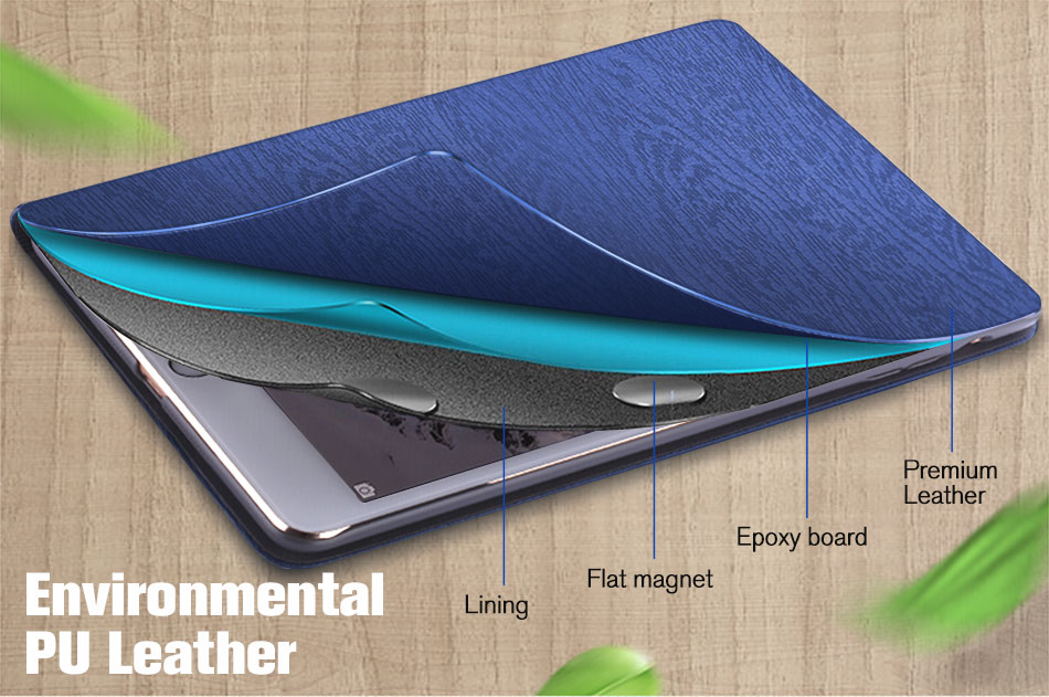 Case For Ipad Mini 1 2 3 PU Leather Flip Case For Ipad Mini Folio Stand Cover Smart Case For Ipad Mini 1 2 3 Film Stable