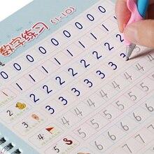2 cuốn sách chữ số Ả Rập Trích Từ Sách thiết kế Rãnh Trẻ Em kịch bản Thường Xuyên bài tập Văn Phòng Phẩm cho học sinh tiểu học Người Mới Bắt Đầu