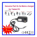5V 3A Universal AC DC Power Supply Adapter Wall Charger For Hyundai T10 T7S T7 Tablet PC US UK EU AU PLUG Free Shipping