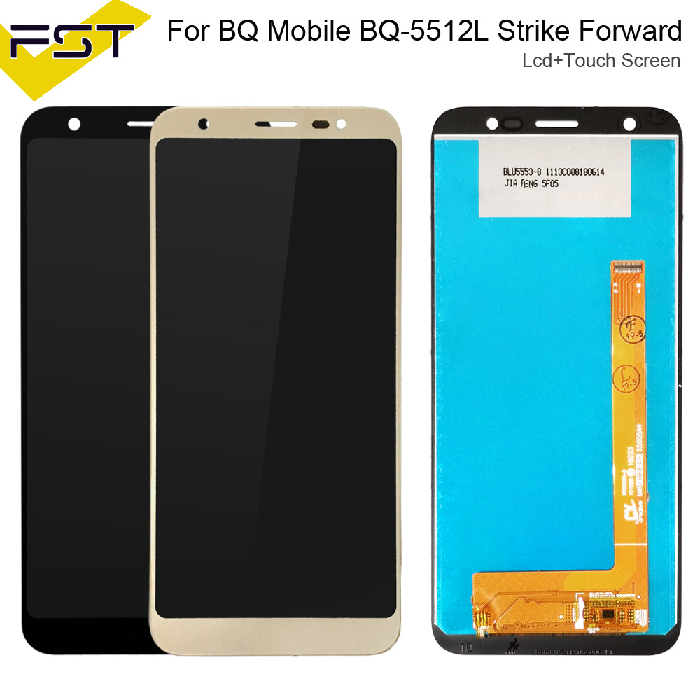 5.45'' For BQ Mobile BQ 5512L Strike Forward BQ5512L BQ 5512L LCD Display+Touch Screen Digiziter Assembly Spare Parts+Tools|Mobile Phone LCD Screens| |  - title=